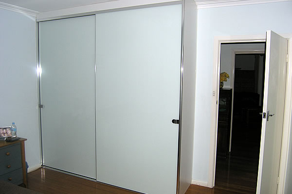 Sliding Opaque Gl Frameless Doors Wardrobes Perfect Australian